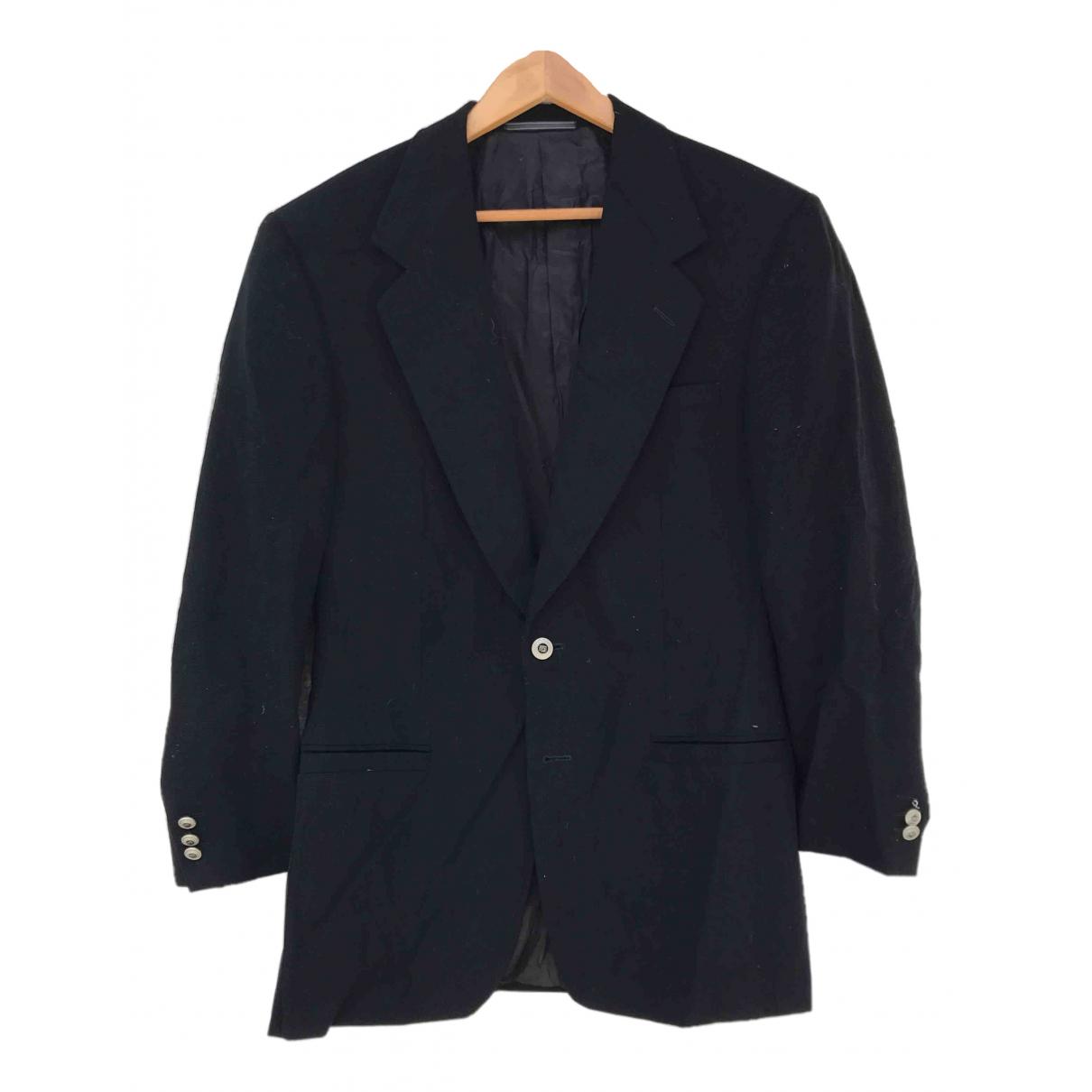 Versace - Vestes.Blousons   pour homme en laine - noir