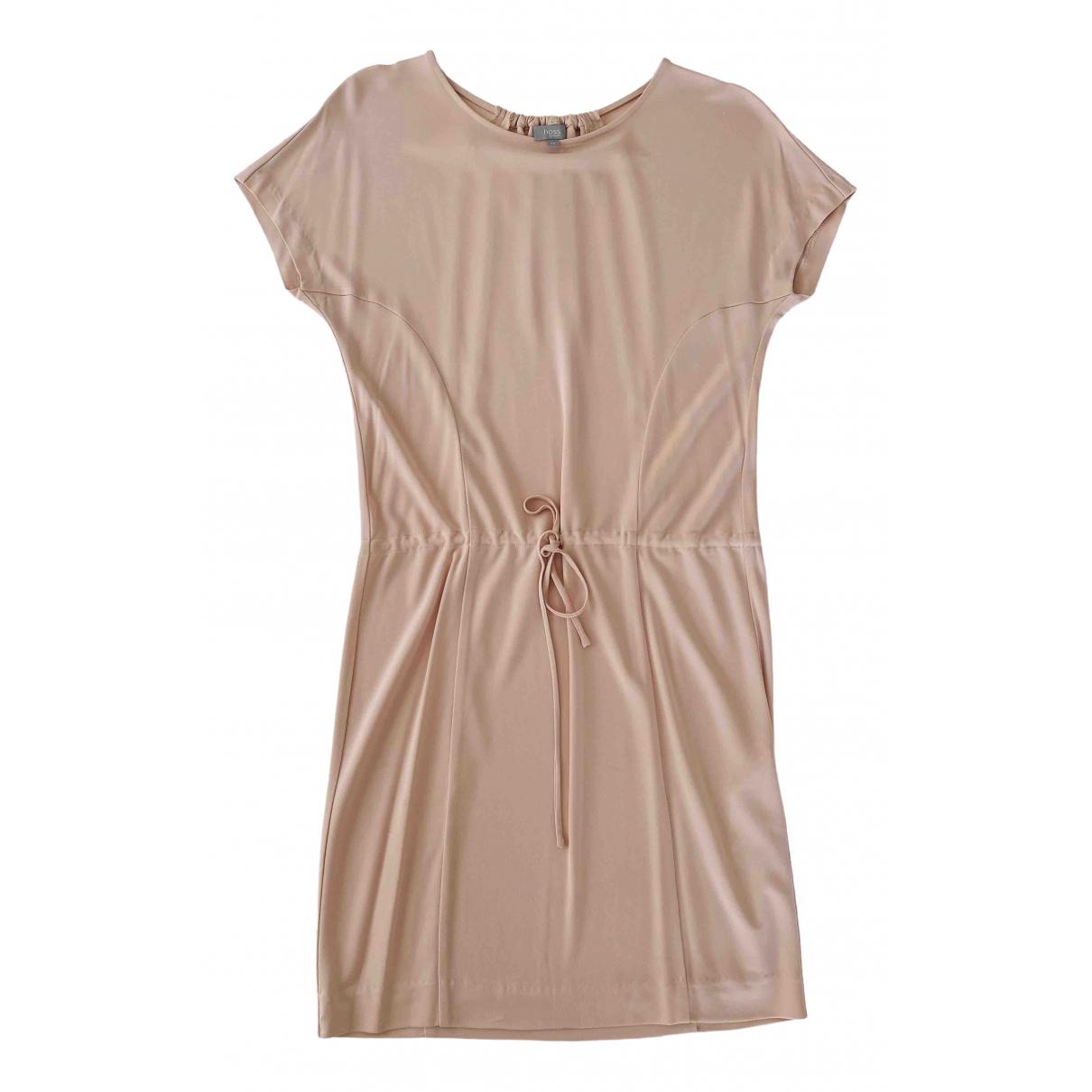 Hoss Intropia - Robe   pour femme - beige