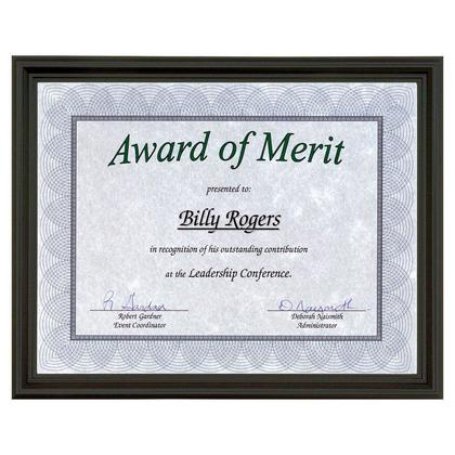 St.James Milano Certificate Frame