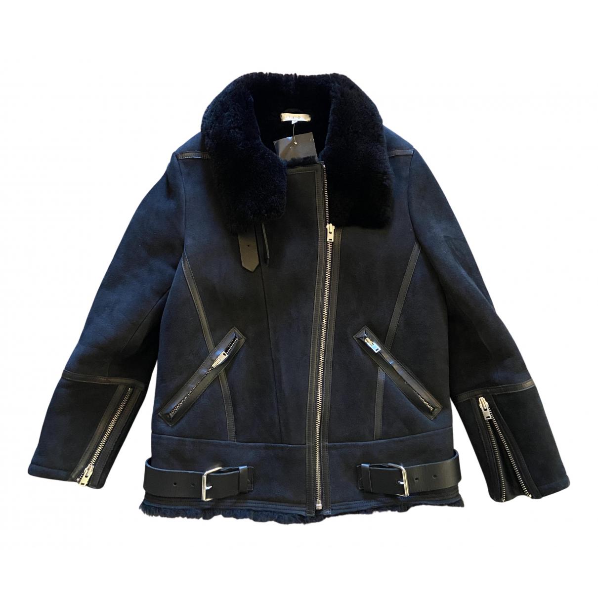 Iro - Blouson Fall Winter 2019 pour femme en cuir - noir