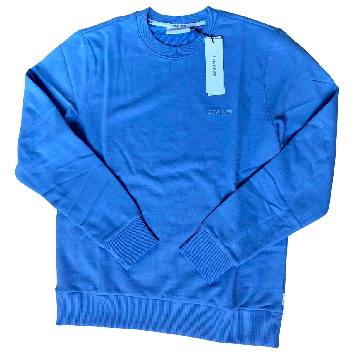 Calvin Klein \N Blue Cotton Knitwear & Sweatshirts for Men M International