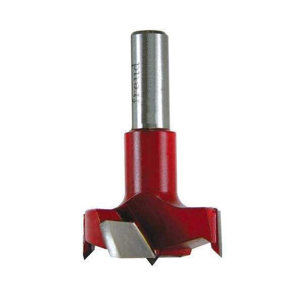 Industrial Carbide Tipped Cylinder Boring Bit, 24mm D x 57.5mm L x 10mm Sh x Left, # CB24057L