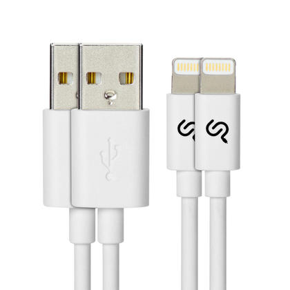 PrimeCables® 1M Lightning Cable, Apple MFi Certified Lightning to USB Charging Sync Cable-3FT - 2/Pack, White