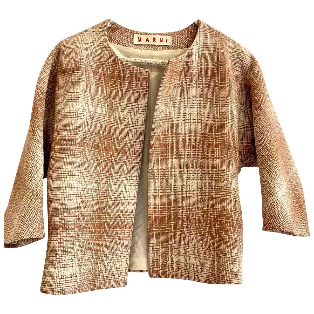 Marni - Veste   pour femme en laine - multicolore