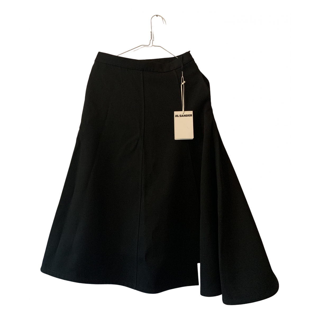 Jil Sander N Black Cotton skirt for Women 34 FR