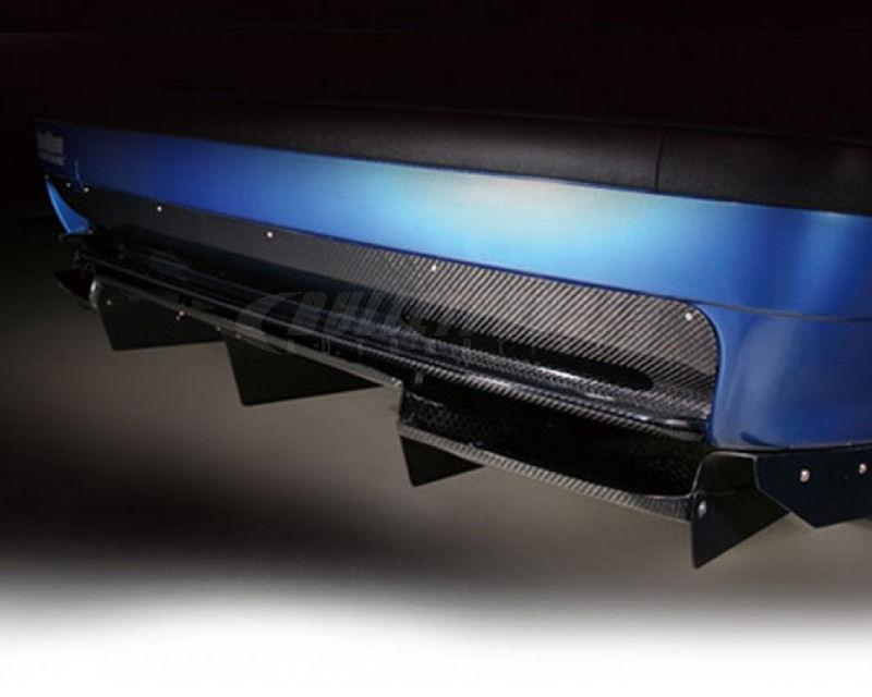 Varis VAB-3606 Half Carbon Fiber Rear Under Skirt BMW E36 M3 92-99