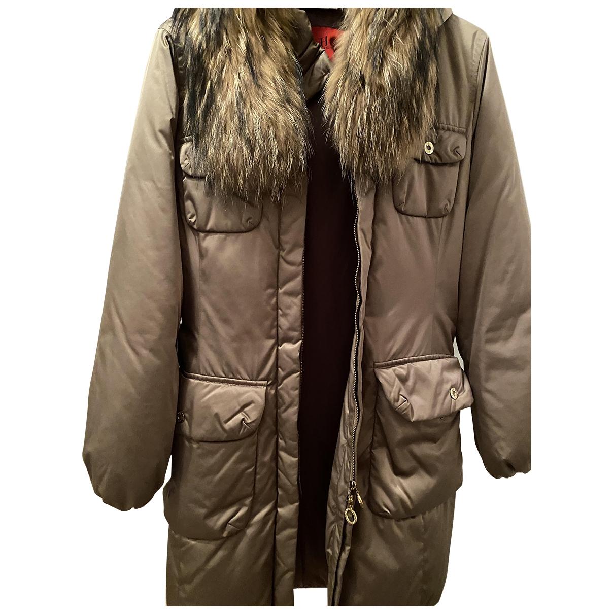 Carolina Herrera \N Fur Leather jacket for Women XS International