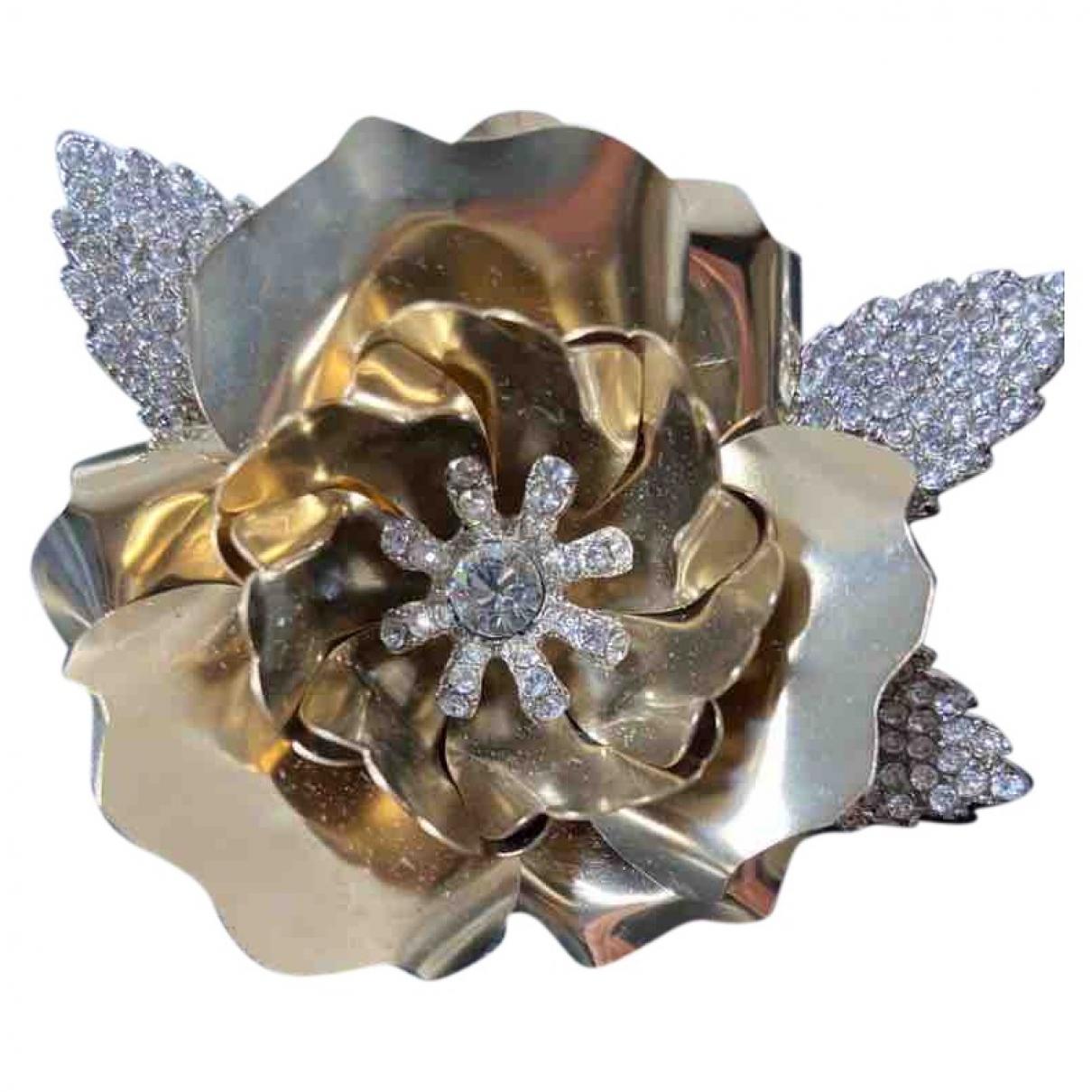 Broche en Metal Dorado Azzaro