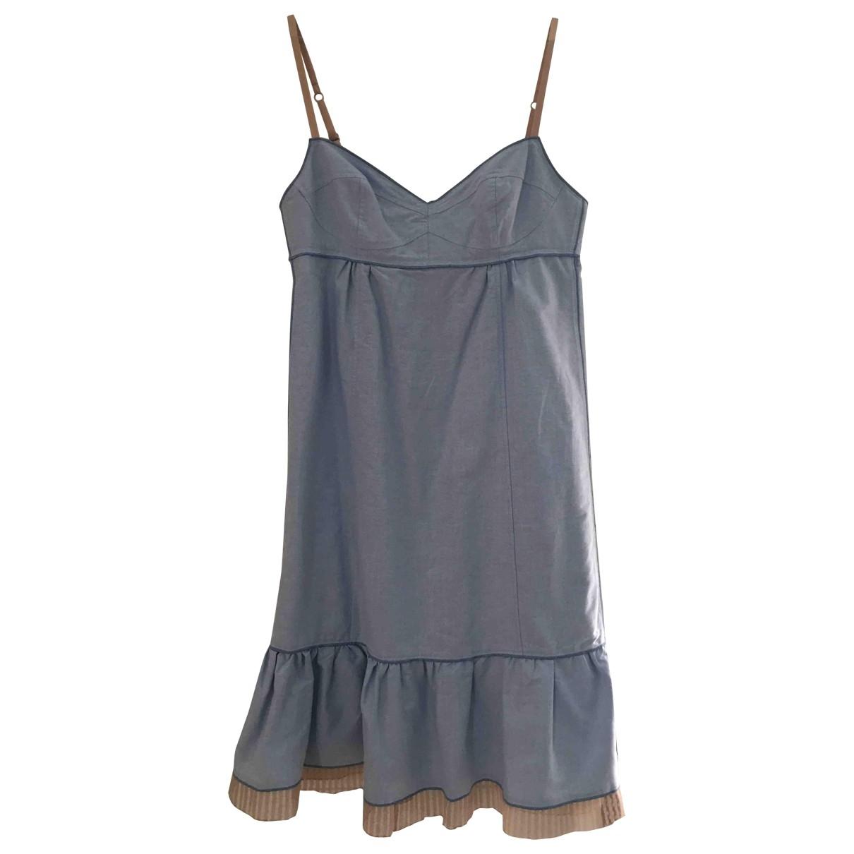 Marc Jacobs - Robe   pour femme en coton - bleu