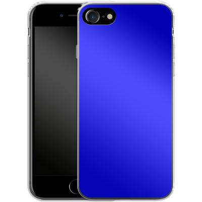 Apple iPhone 8 Silikon Handyhuelle - Test Blue von caseable Designs