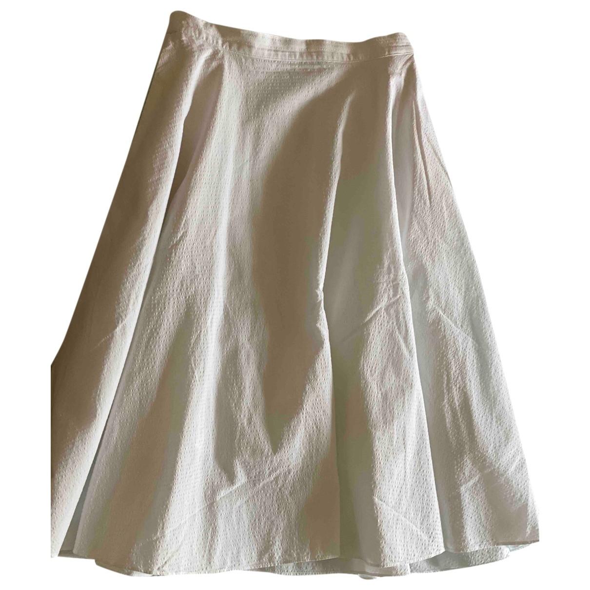 Uniqlo \N White Cotton skirt for Women M International
