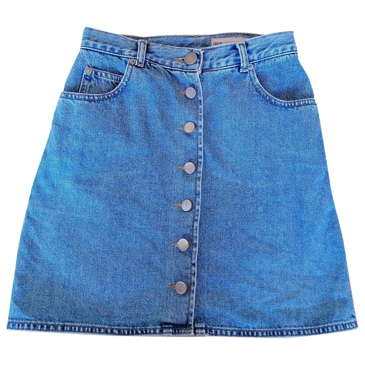 Asos \N Rocke in  Blau Denim - Jeans