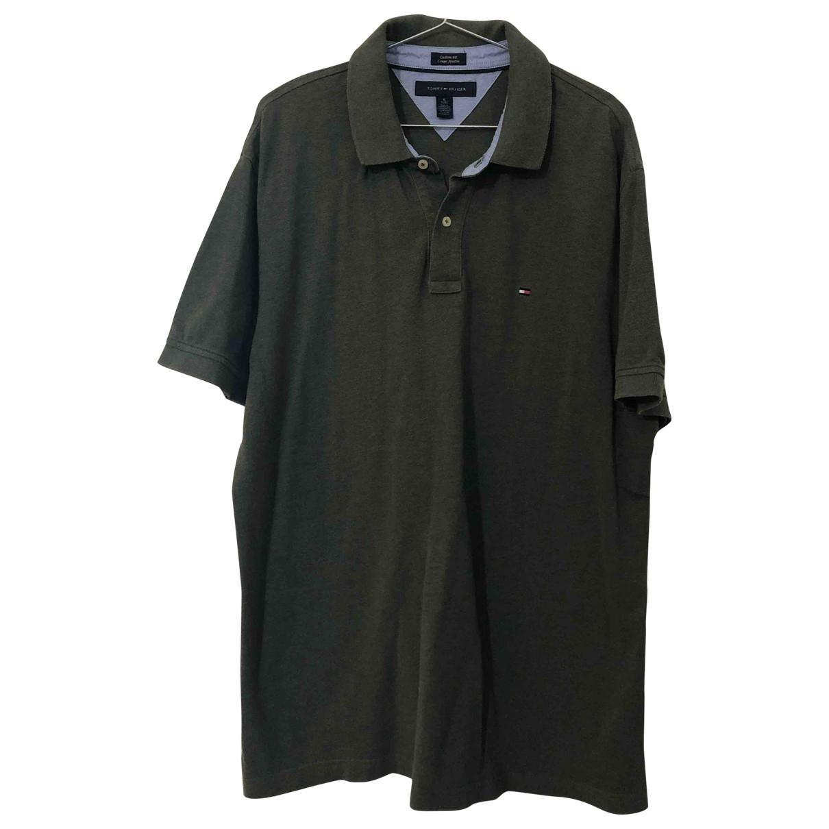 Tommy Hilfiger \N Poloshirts in  Gruen Baumwolle