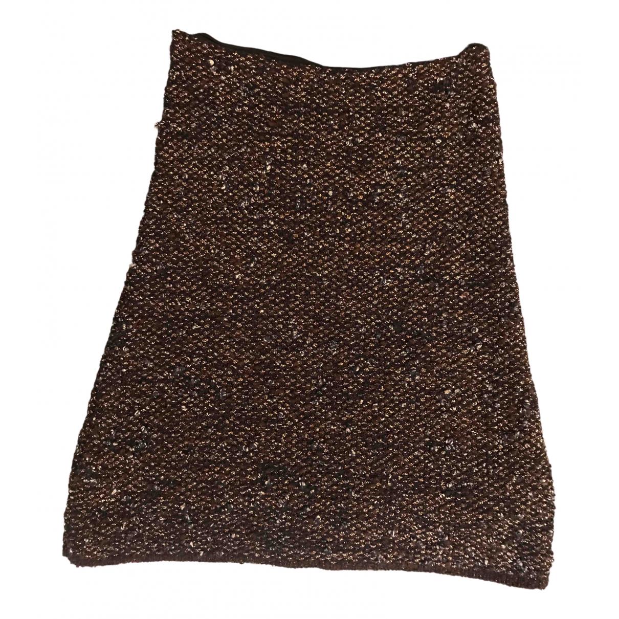Lanvin \N Rocke in  Braun Wolle