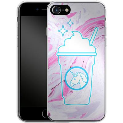 Apple iPhone 7 Silikon Handyhuelle - Unicorn Frappuccino von caseable Designs