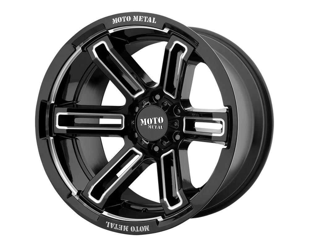 Moto Metal MO99129087300 MO991 Rukus Wheel 20x9 8x8x170 +0mm Gloss Black Milled