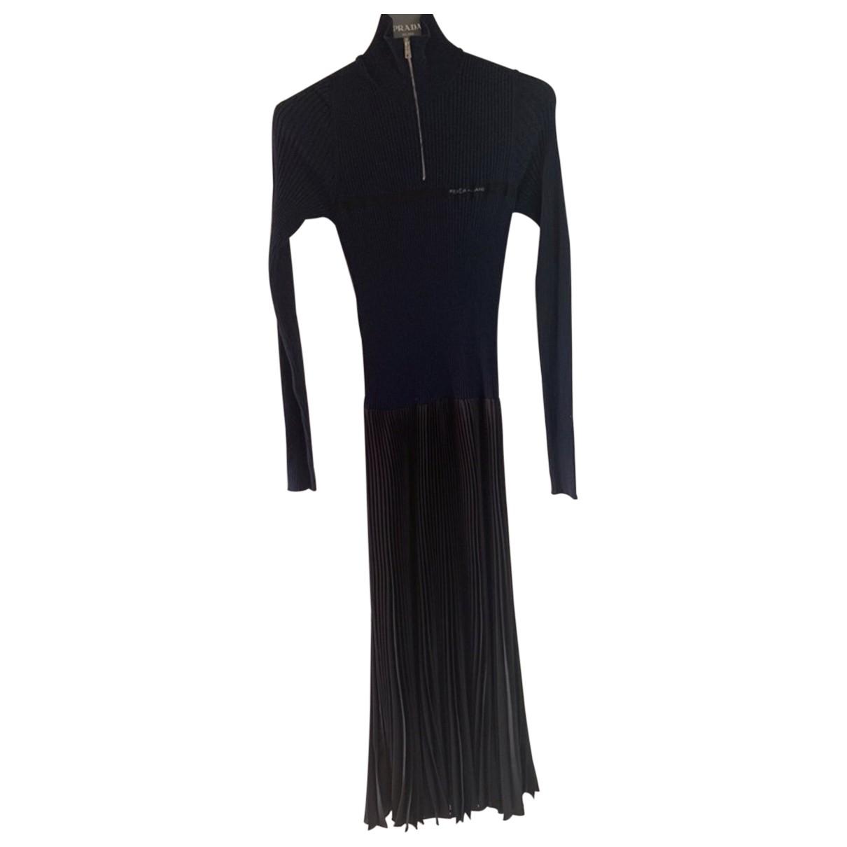 Prada - Robe   pour femme en laine - multicolore