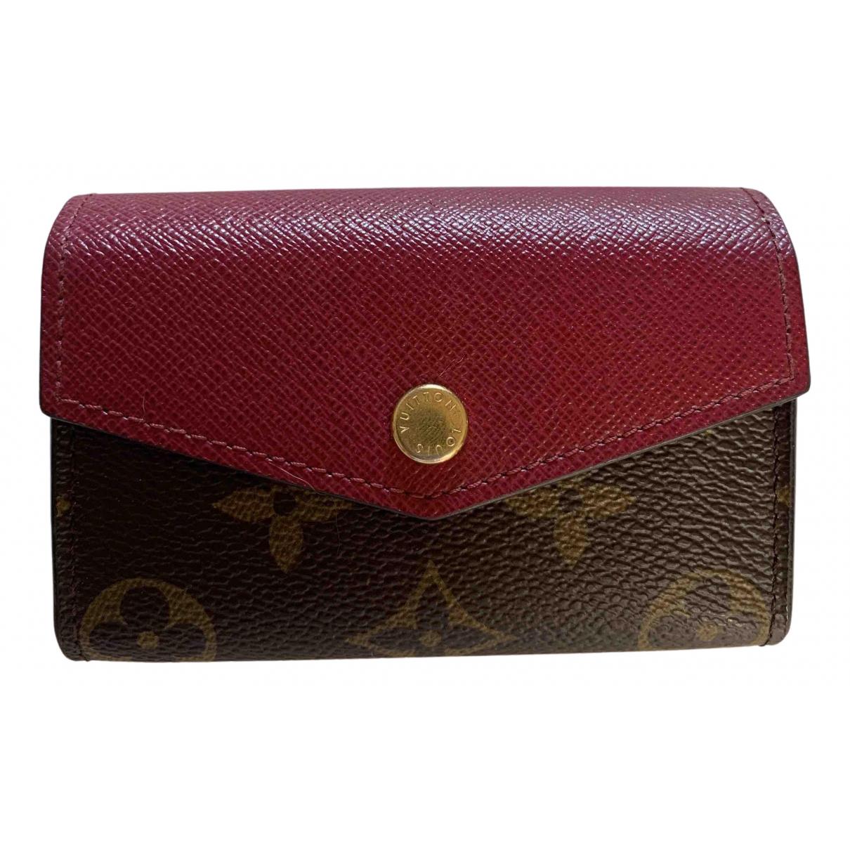 Louis Vuitton Victorine Brown Cloth wallet for Women N