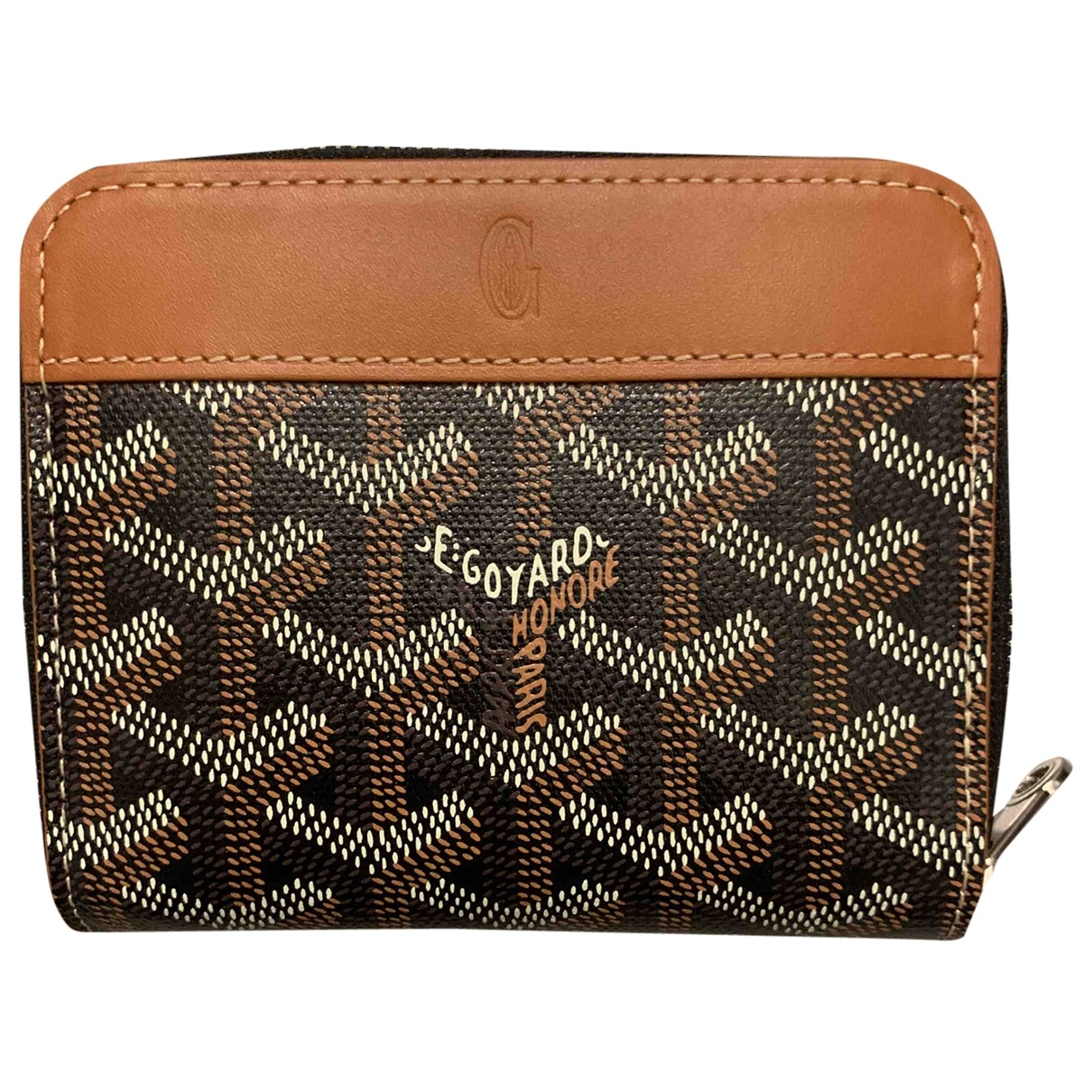 Goyard \N Brown Cloth Purses, wallet & cases for Women \N