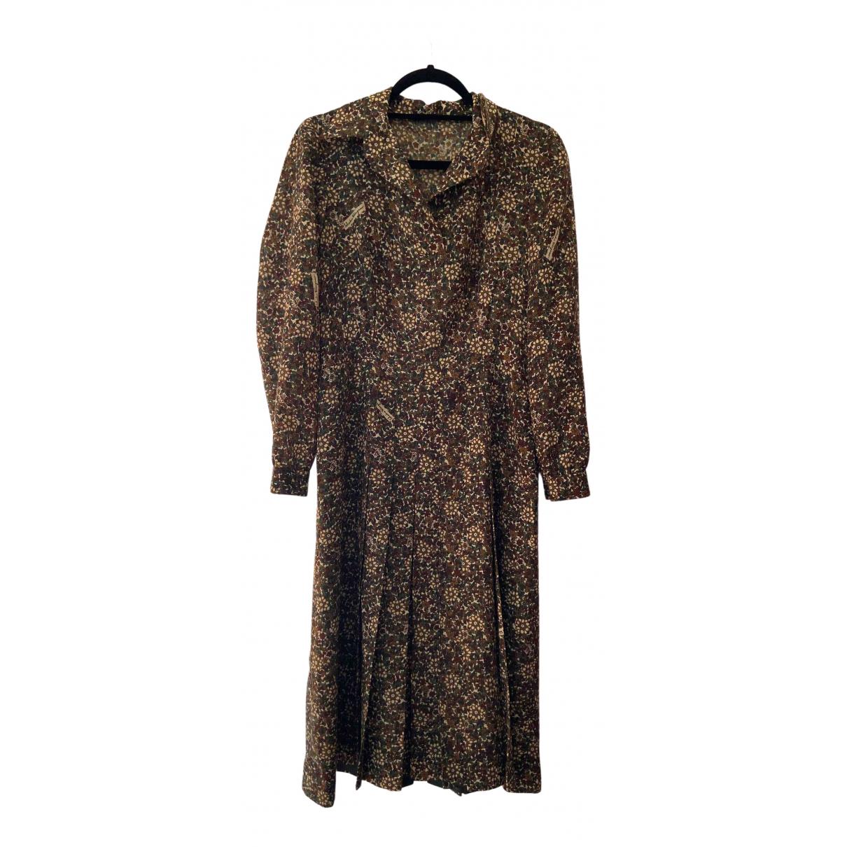 Salvatore Ferragamo - Robe   pour femme en coton - multicolore