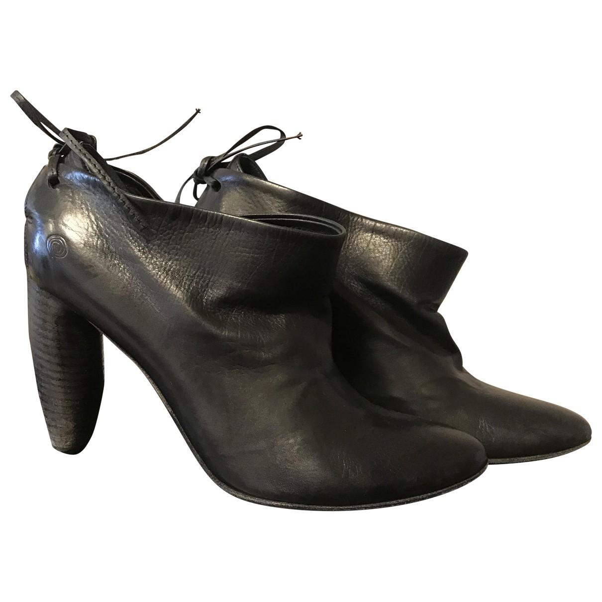 Marsèll \N Black Leather Heels for Women 36 EU