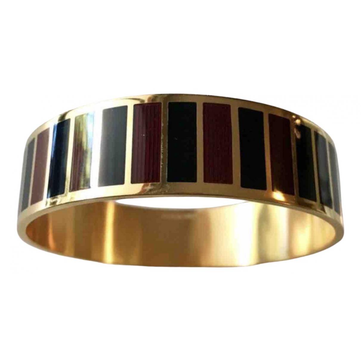 Givenchy \N Burgundy Metal bracelet for Women \N