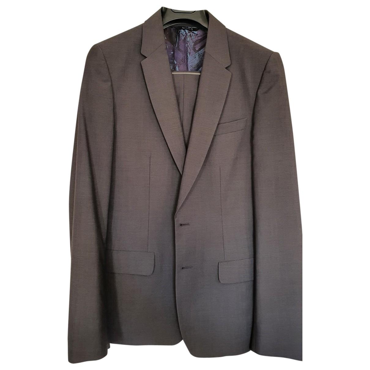 Paul Smith - Costumes   pour homme en coton - anthracite