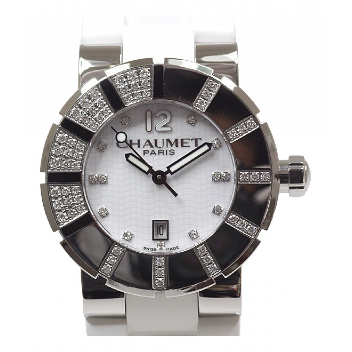 Chaumet Class One Uhr in  Weiss Stahl