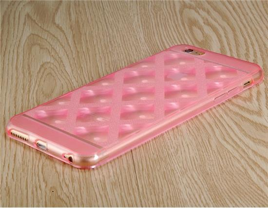 Angibabe Ultra-thin Sparkling TPU Rubber Case for 4.7