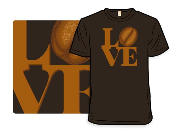 Love Coffee T Shirt