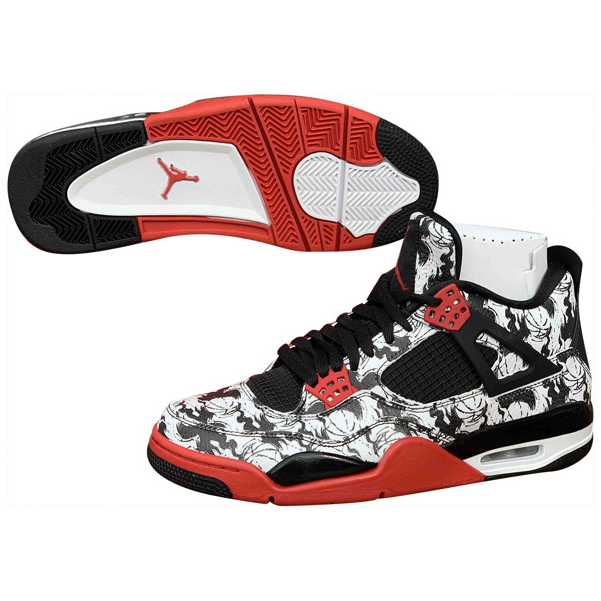 Jordan Air Jordan 4 Leather Trainers for Men 43 EU