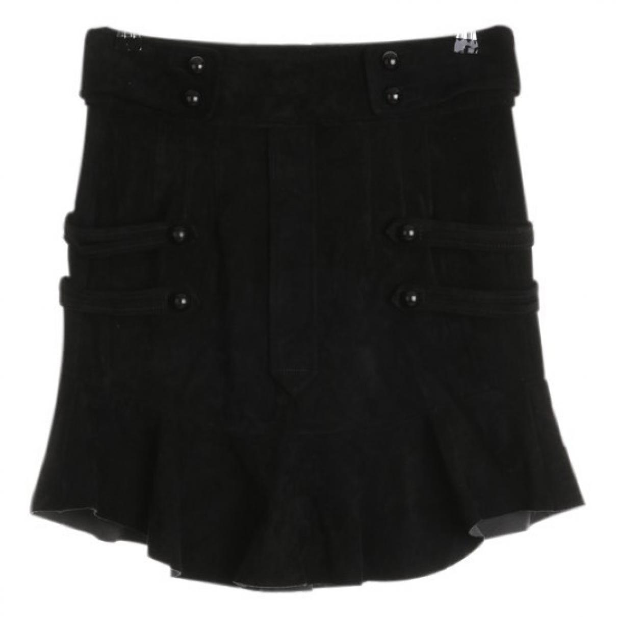 Isabel Marant \N Black Suede skirt for Women 34 FR