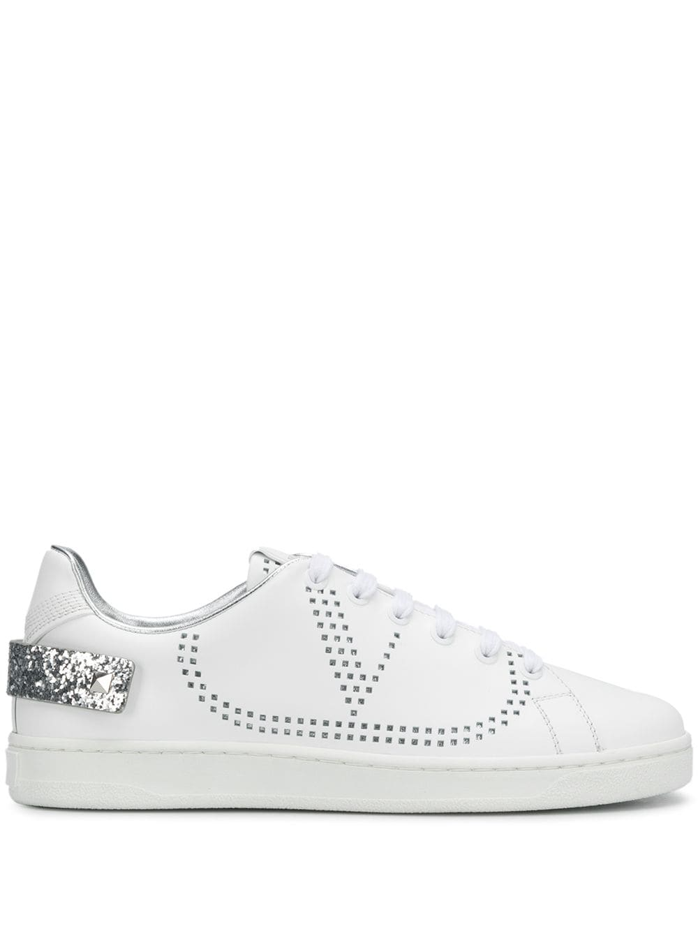 Backnet Leather Sneakers