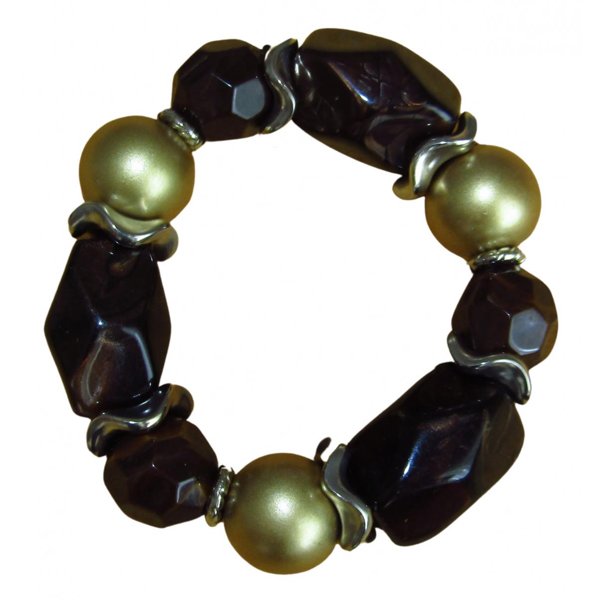 - Bracelet Ambre pour femme en cristal - marron
