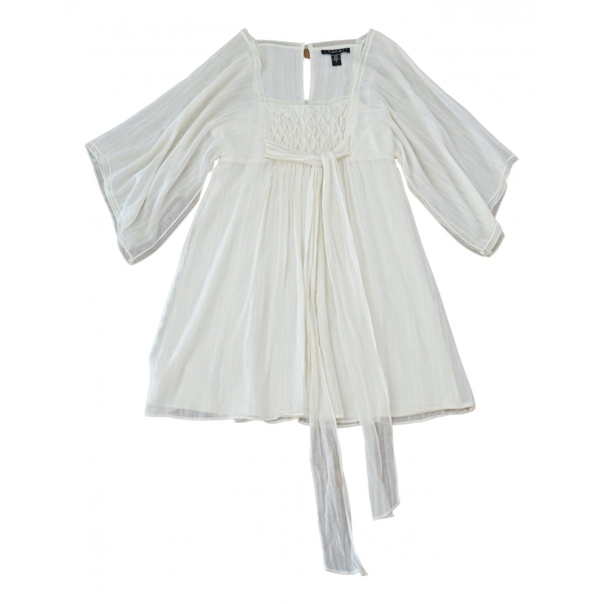 - Robe   pour femme en coton - beige