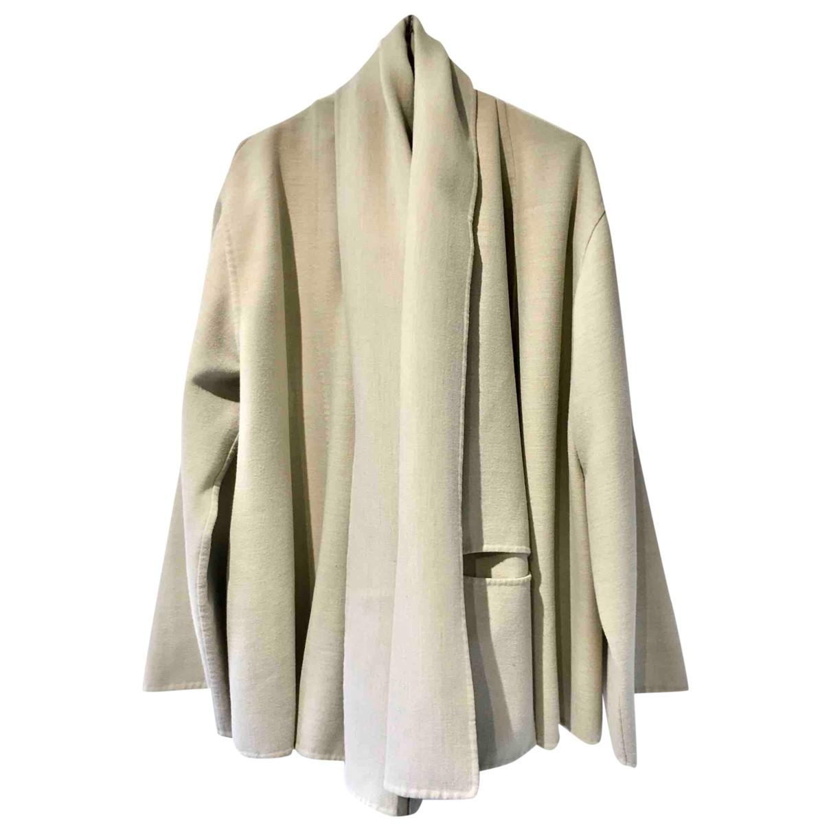 Jean Paul Gaultier \N Ecru Cotton jacket for Women 38 FR