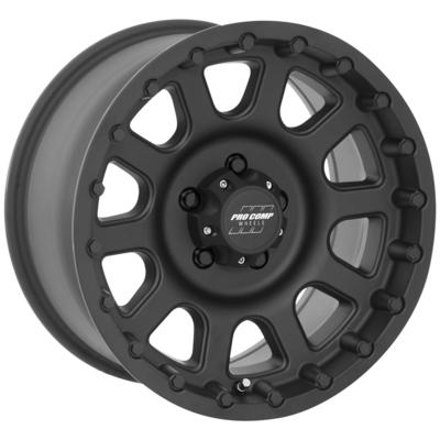 Pro Comp 32 Series Bandido, 18x9 Wheel with 5 on 150 Bolt Pattern - Flat Black - 7032-8955