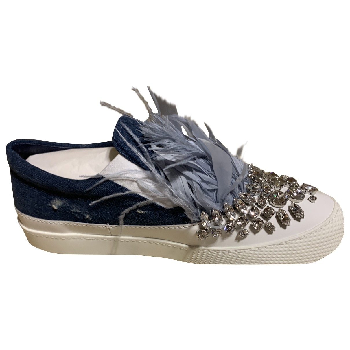 Miu Miu \N Sneakers in  Bunt Mit Pailletten