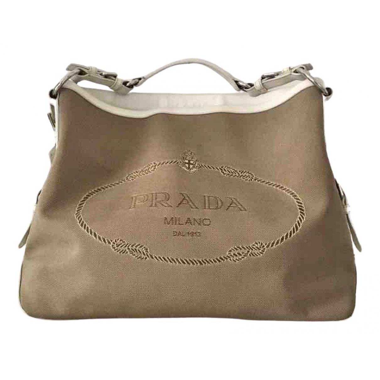 Prada \N Handtasche in Leinen
