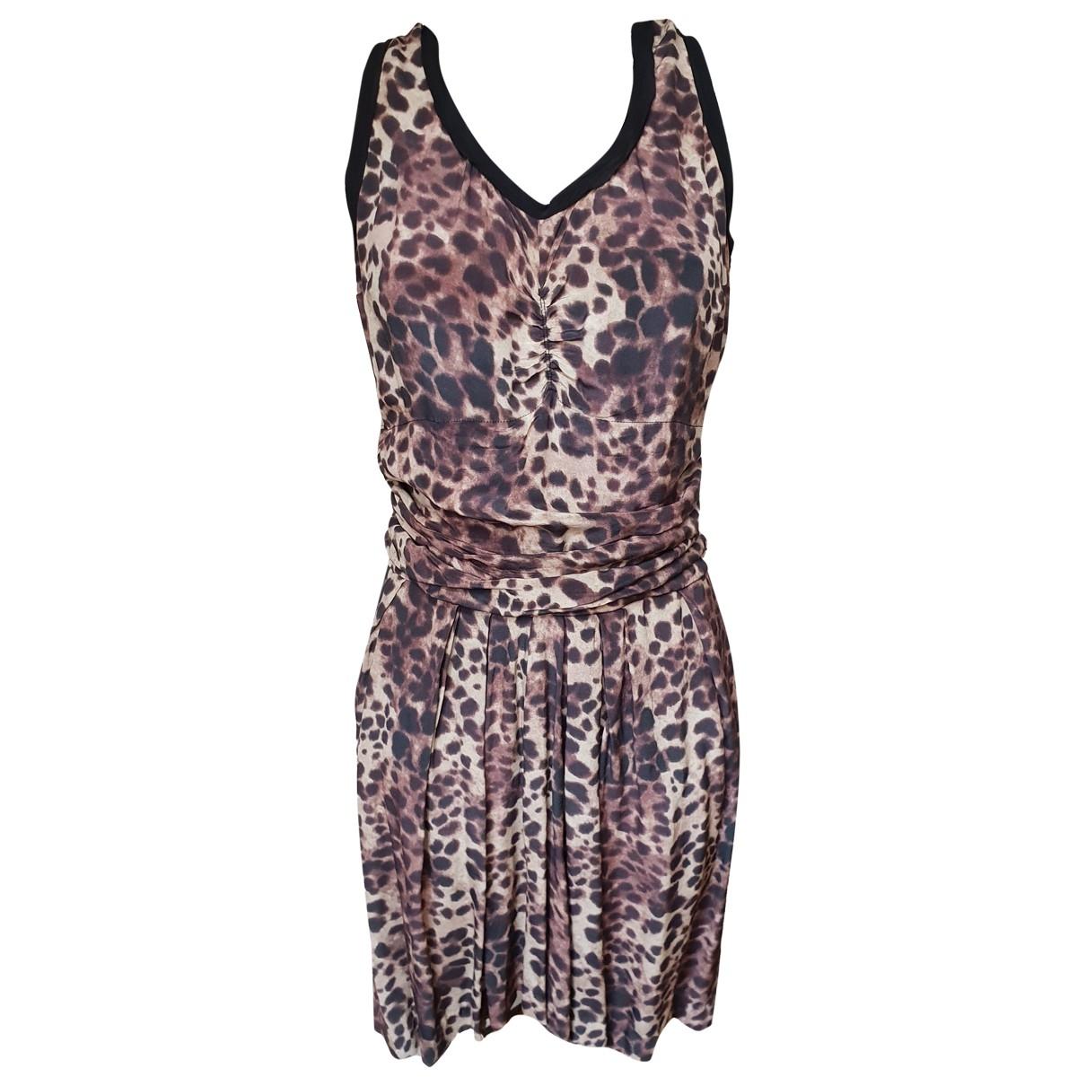 Isabel Marant Etoile \N Black Silk dress for Women 2 0-5