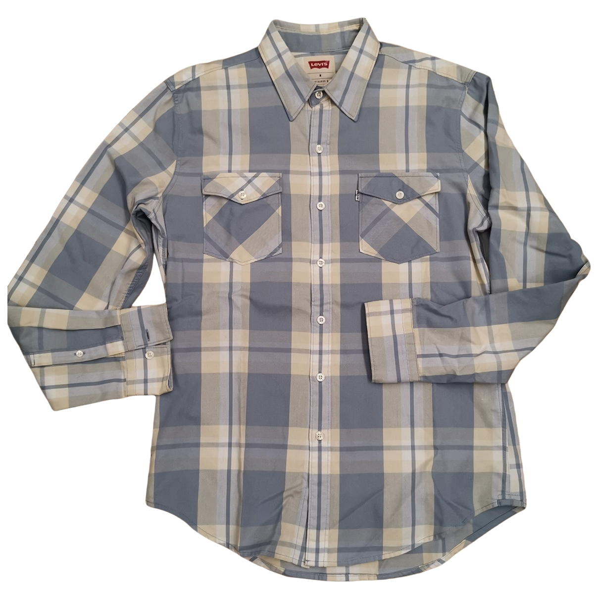 Levi's \N Blue Cotton Shirts for Men M International