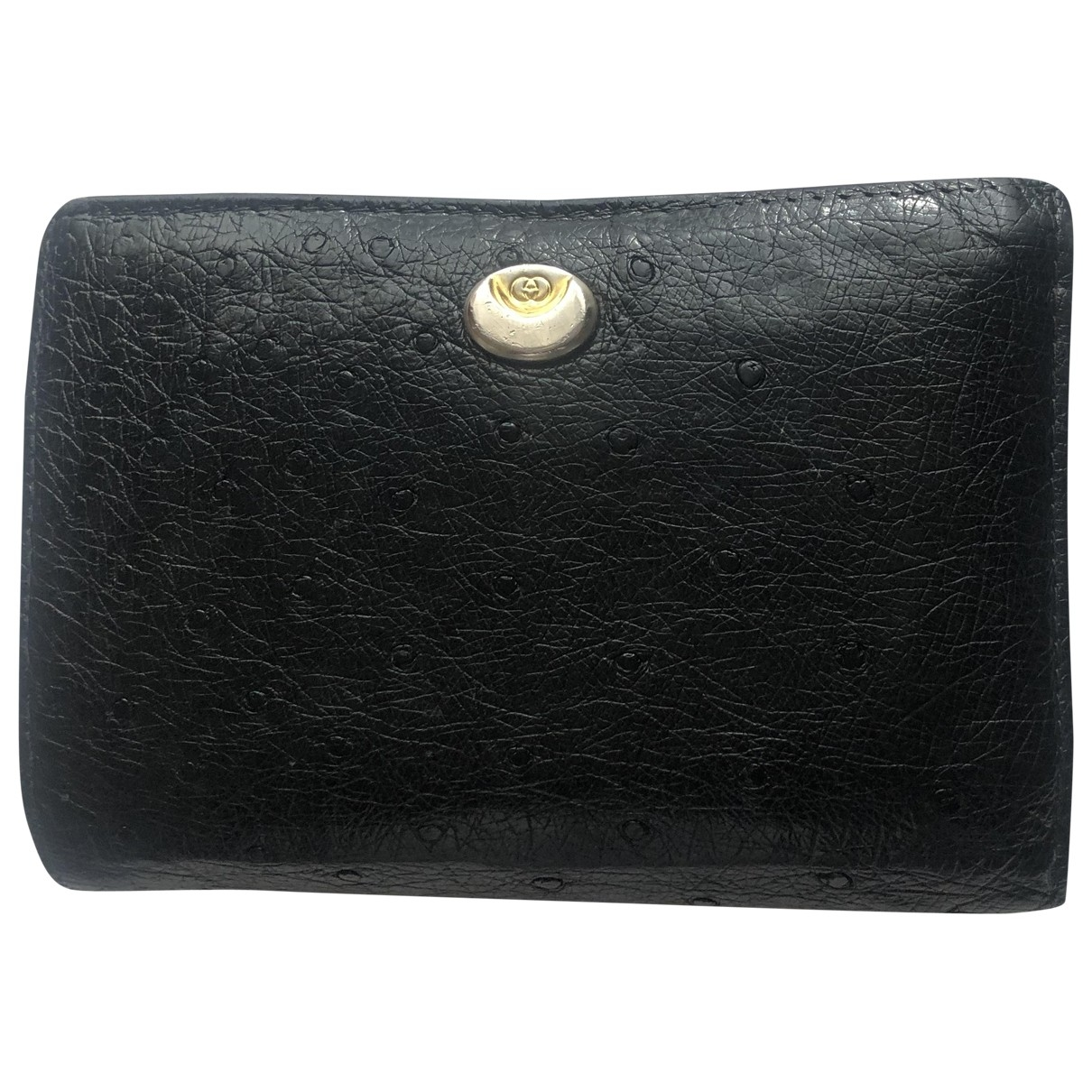 Gucci \N Black Leather wallet for Women \N