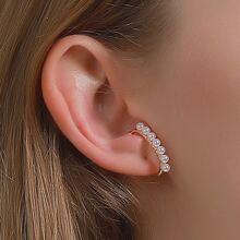 1pc Faux Pearl Ear Cuff