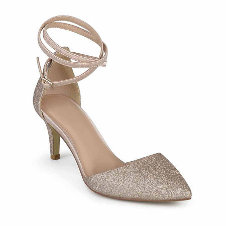 Journee Collection Womens Luela Pumps Stiletto Heel, 7 Medium, Pink