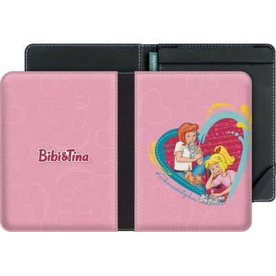 tolino vision 4 HD eBook Reader Huelle - Bibi und Tina Schmusekaetzchen von Bibi & Tina