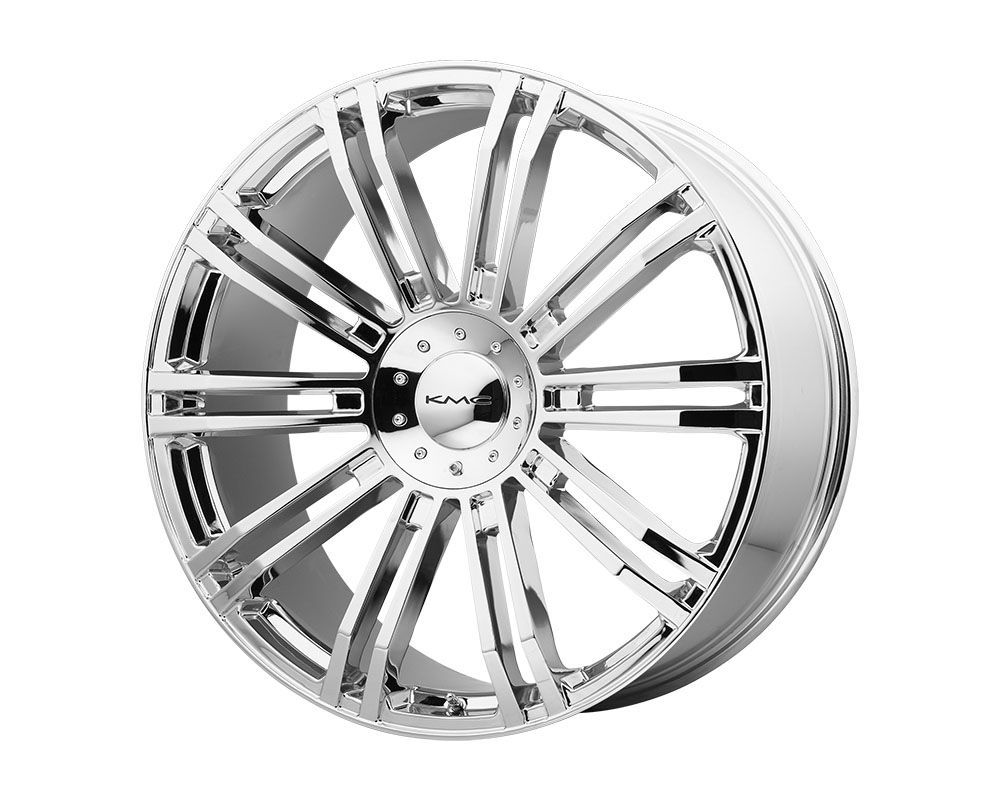 KMC KM677 D2 Wheel 24x9.5 6x6x135/6x139.7 +35mm Chrome