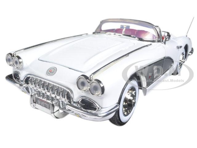 1958 Chevrolet Corvette White