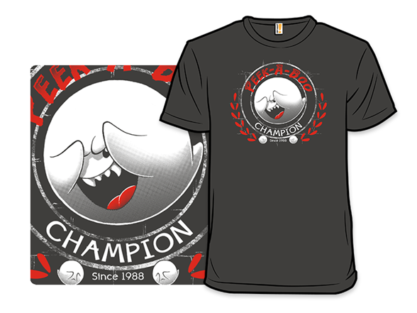 Peek-a-boo Champion T Shirt