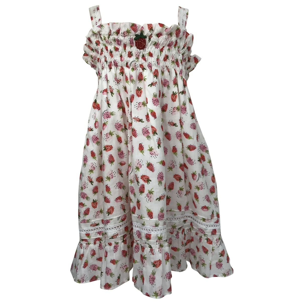 Gucci \N White Cotton dress for Kids 2 years - up to 86cm FR