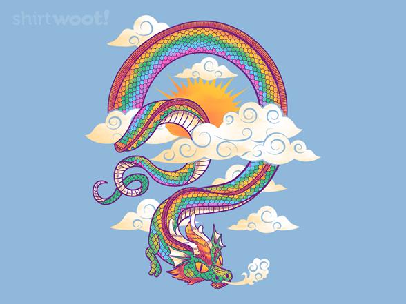 Rainbow Dragon T Shirt